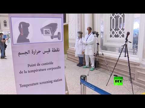 شاهد وزيرا النقل والسياحة في تونس يتفقدان مطار قرطاج الدولي