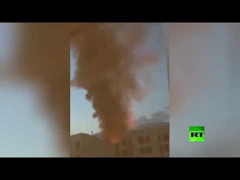 شاهد 19 قتيلًا و13 جريحًا في انفجار بمنشأة طبية شمال طهران الإيرانية