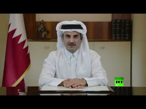 شاهد أمير قطر يُعلن مساهمة بلاده بـ50 مليون دولار لمساعدة لبنان