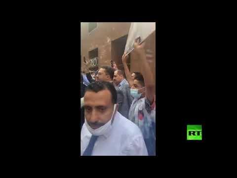 شاهد تظاهرة في منهاتن الأميركية تنديدًا بالحصار على اليمن