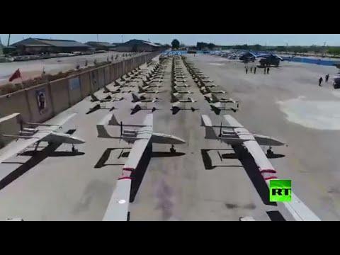 شاهد تزويد القوات البحرية في الحرس الثوري الإيراني بعشرات الطائرات المسيرة