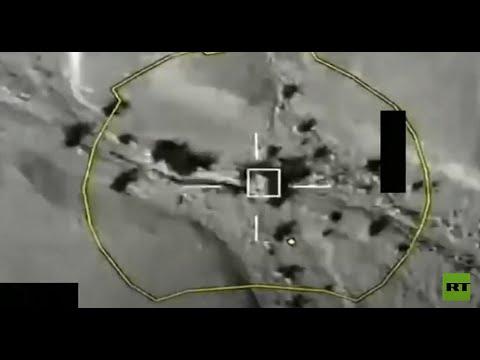 شاهد تدمير صاروخ باليستي للحوثيين كان مُجهزًا للإطلاق باتجاه السعودية