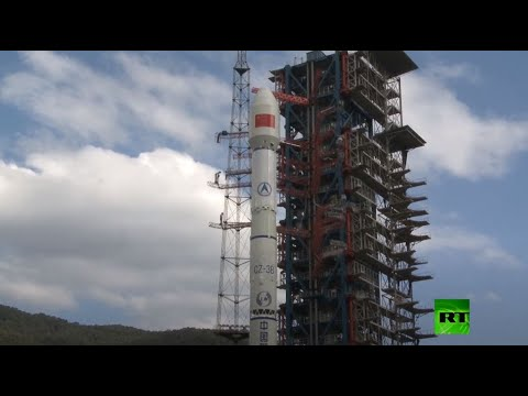 الصين تطلق قمرًا صناعيًا للاتصالات من طراز tiantong 102