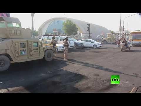 شاهد انتشار أمني في مدينة الناصرية العراقية
