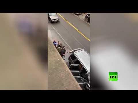 شاهد لقطات تُظهر لحظة القبض على مرتكب حادث الدهس في ترير الألمانية