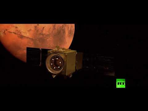 شاهدوصول مسبار الأمل الإماراتي بنجاح إلى مدار المريخ