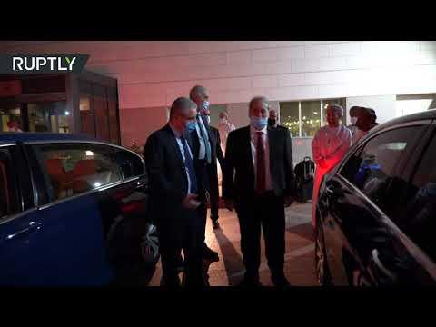 شاهد  وزير الخارجية السوري في أول زيارة إلى دولة خليجية