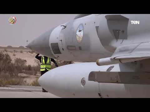 شاهد  إختتام فعاليات التدريب المشترك الجوي المصري الإماراتي زايد 3