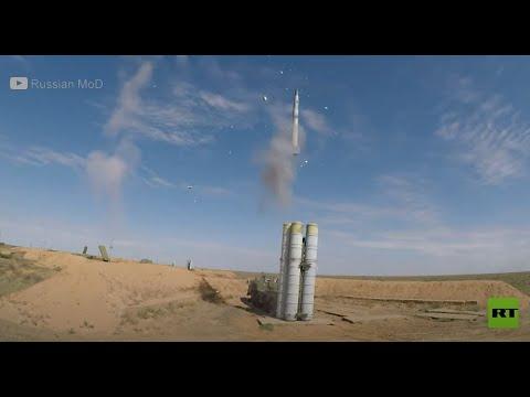 الدفاعات الجوية الروسية تصد هجوماً صاروخياً جوياً أثناء التدريبات