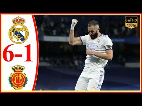 ريال مدريد يدك شباك مايوركا بسداسية ويستعيد صدارة الدوري الإسباني